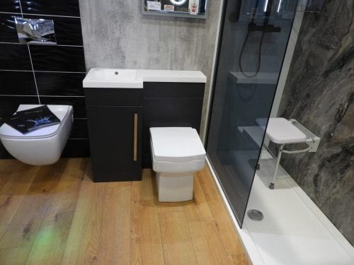 Bath and Shower Showroom in Wigan